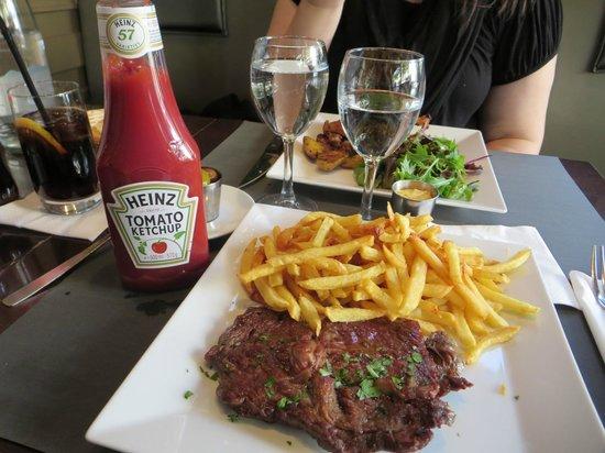 Le Bosquet: Steak Frites