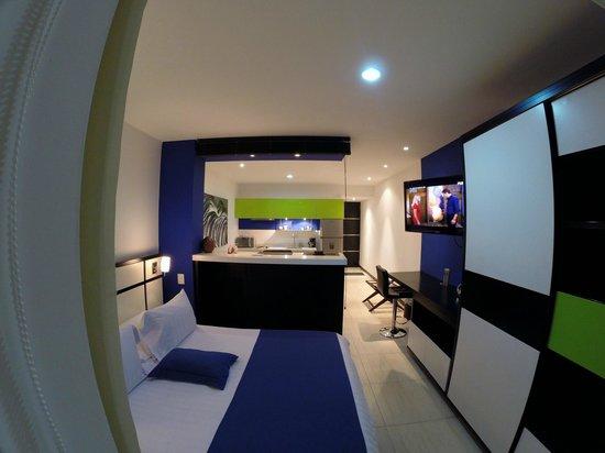 Aqua Granada Hotel: Loft Suite en 2 ambientes + balcón (opcional)