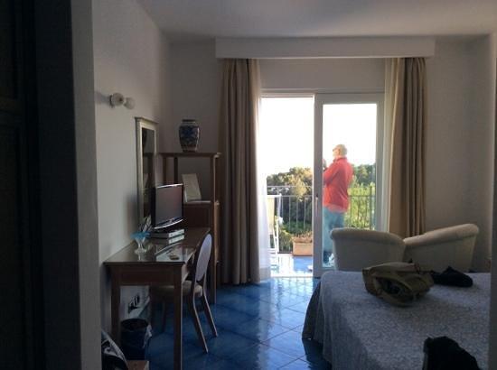 Hotel La Floridiana: camera