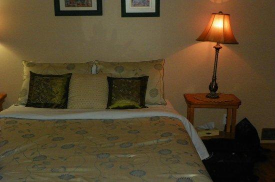 Auberge Beaux Reves Et Spa (Sweet Dreams Inn) : Chambre douillette!