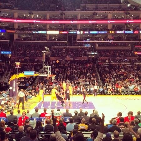 Staples Center: Lakers - Trail Blazers