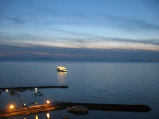 Hotel Klein Wien : tramonto sul golfo