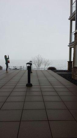 Beacon Pointe Resort: Deck. Late Winter 2014.