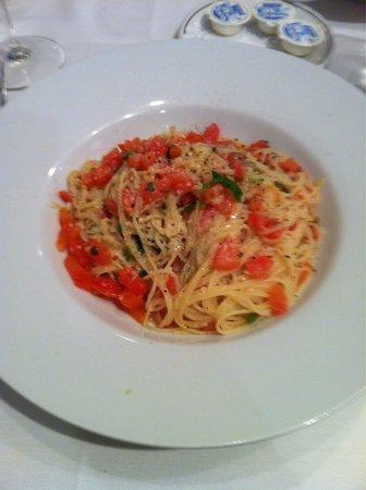 Il Chianti Restaurant: Paradiso angel hair (veggie)