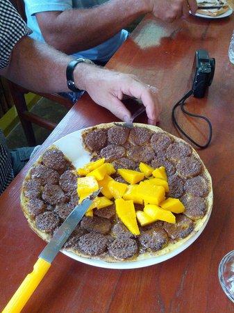 Mango Banana Pancake - Picture of Inle Pancake Kingdom, Nyaung Shwe ...