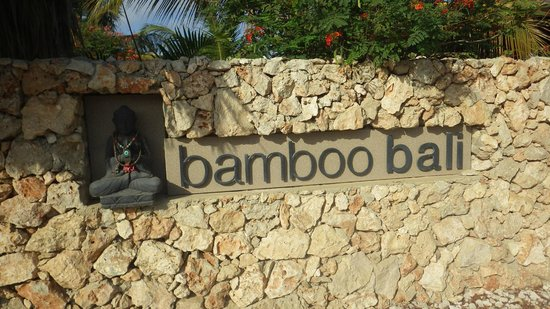 Bamboo Bali Bonaire - Boutique Resort: Gated and walled, very secure.