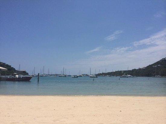 The Westin St. John Resort : Beach View