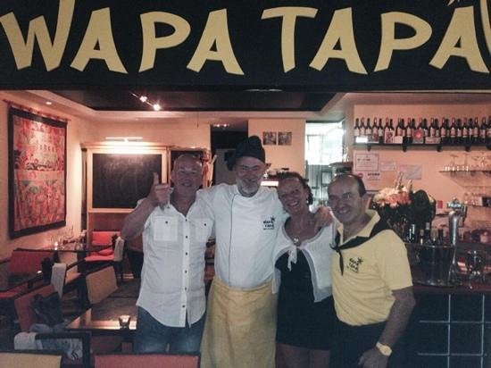 Wapa Tapa : serata fantastica