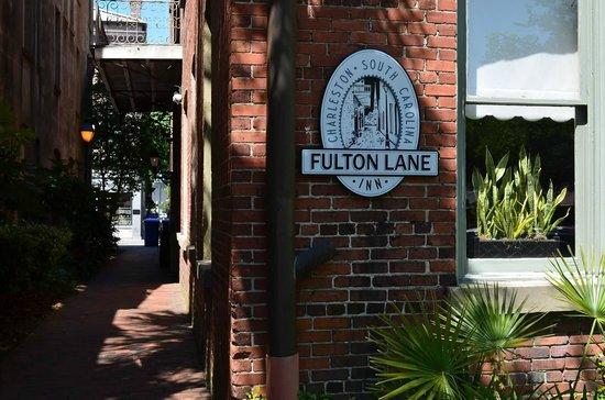 Fulton Lane Inn : Entrance