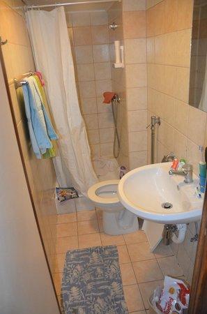 Prague River Hotel - Botel Vodnik: bagno
