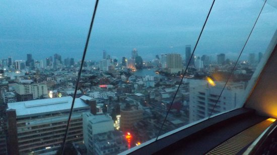 Grand China Hotel: view from revolving bar