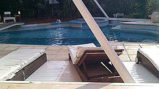 Bagu Hotel & Spa : PILETA EN EL DESAYUNO