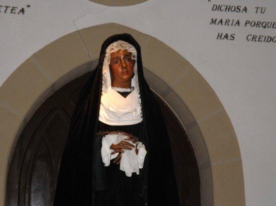 Iglesia de San Vicente: madonna