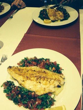 Peters Place: Sea bass yummy
