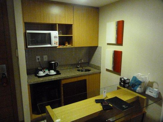 Melia Brasil 21: La kitchenette que no es tal