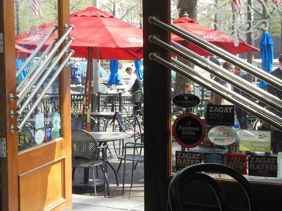 Willard InterContinental Washington : the Cafe