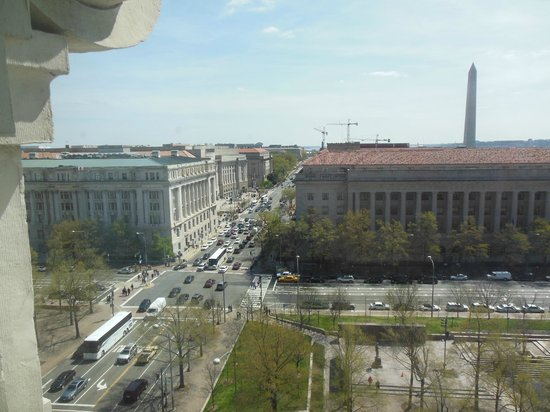 Willard InterContinental Washington : The view from our room