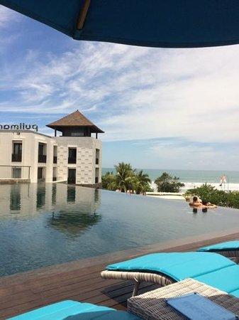 Pullman Bali Legian Nirwana : pool sea view