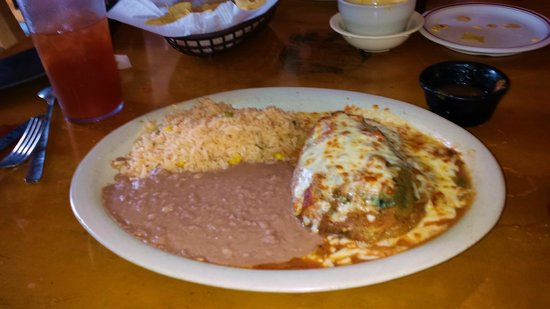 Original Mexican Cafe: The best relleno in Galveston or anywhere else that I have eaten