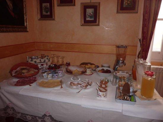Palazzo del Capitolo : bouffé della colazione