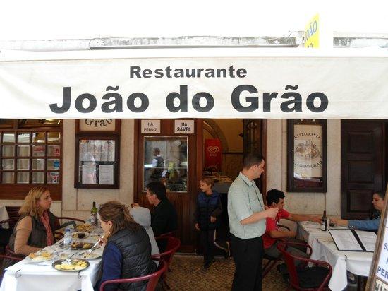 Joao do Grao : Frente do restaurante