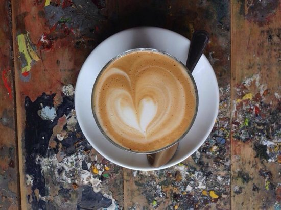 Grunge Cafe: Best coffee in Belgrave