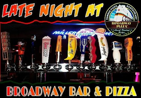 Broadway Bar and Pizza: add