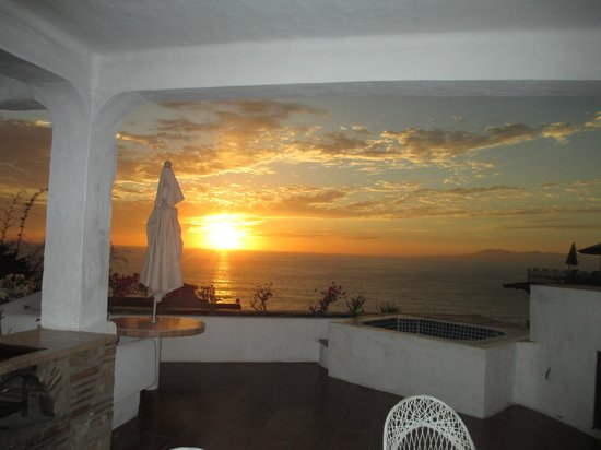 Villas Loma Linda : Same view location: Sunset!