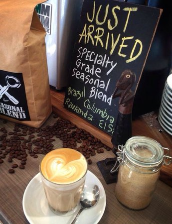 Grunge Cafe: Loving the specialty blends and single origin coffee on offer