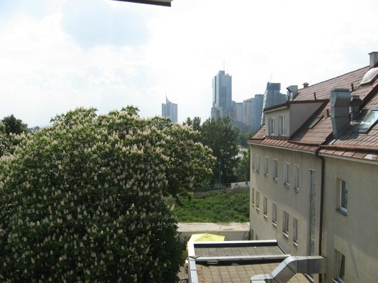 Hotel Lenas Donau: view from our room no.472