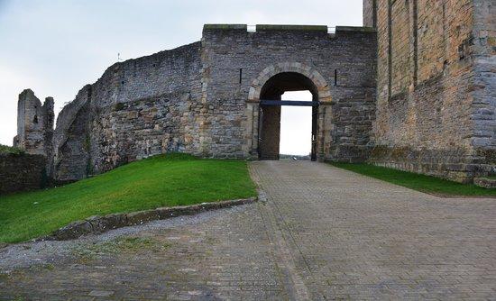 Richmond Castle: Eingang