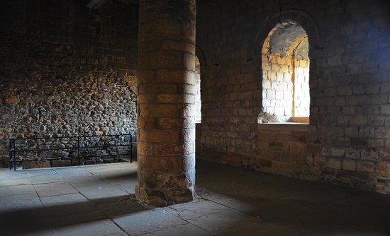 Richmond Castle: Gemach