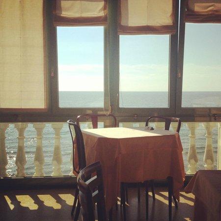 Hotel Badano sul Mare : ristorante, sala da pranzo, vista, atmosfera