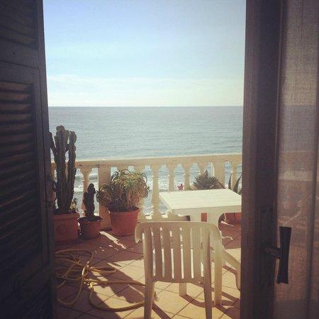 Hotel Badano sul Mare : panorama, camera, balcone, mare, spiaggia