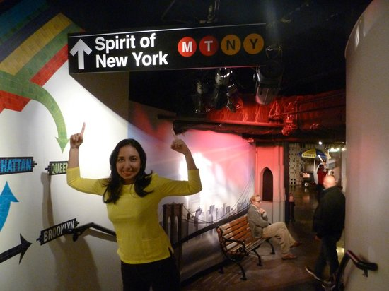 Madame Tussauds New York : Spirit of New York