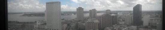 Sheraton New Orleans Hotel : The view