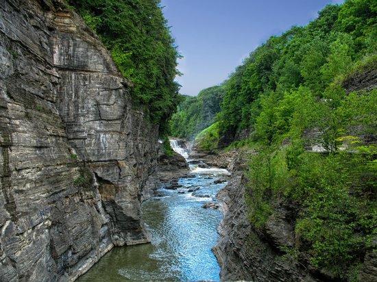 Letchworth State Park : gorge