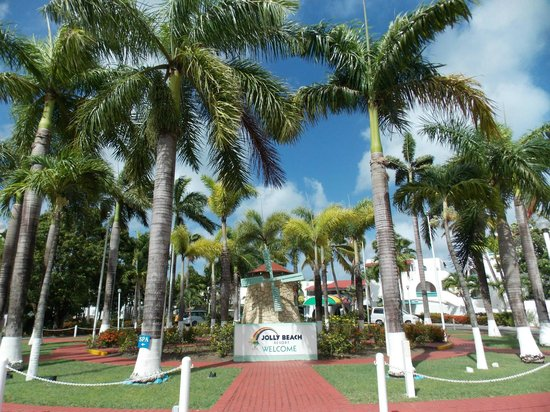 Starfish Jolly Beach Resort : entrance to JBR