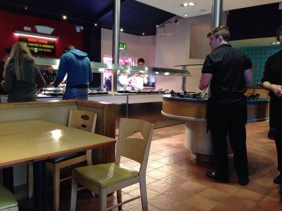 Buffet Picture Of Pizza Hut Chertsey Tripadvisor