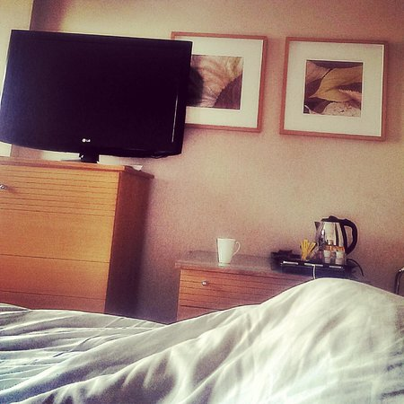 Hilton London Metropole: Late Check Out -1pm and still in bed