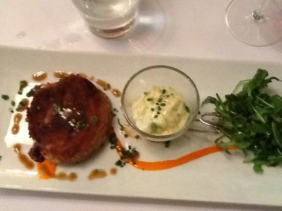 La Ferrandaise: start to a great dinner duck appetizer