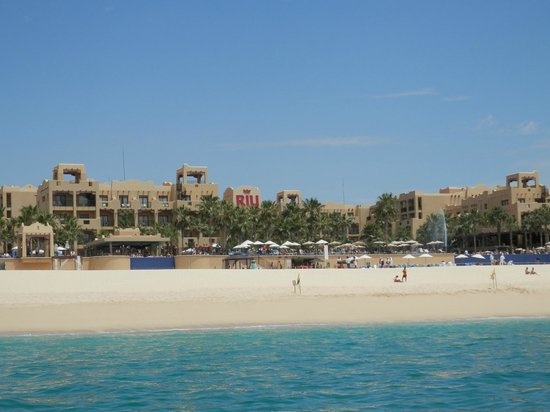 Hotel Riu Santa Fe: View from water taxi