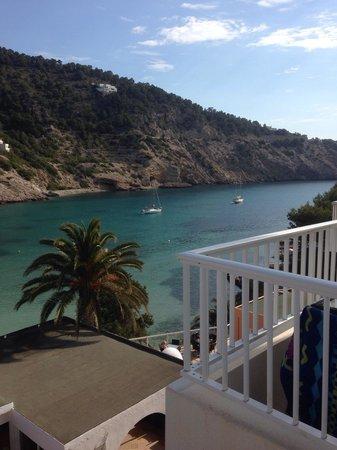 El Pinar Aparthotel: Vista dal balcone