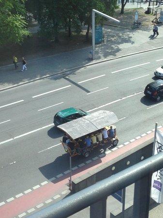 Radisson Blu Hotel, Berlin: dalla finestra