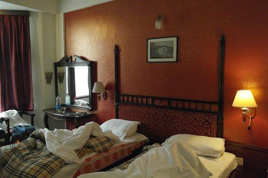 Khanna Palace Hotel : hotelkamer begane grond
