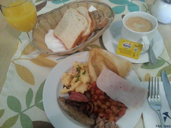 Falkensteiner Hotel Maria Prag : Palatable breakfast dishes