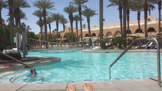 The Westin Mission Hills Villas: Water is always the perfect temp.