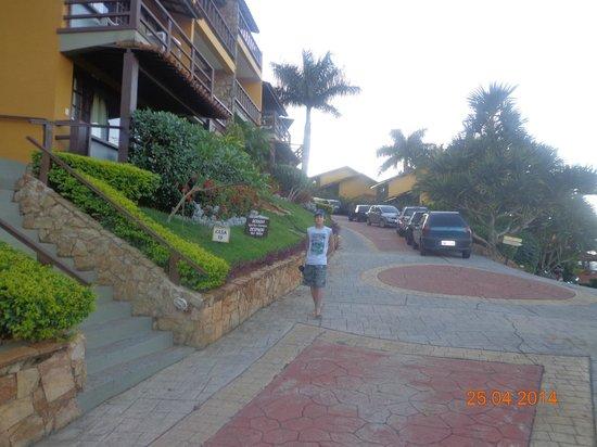 La Boheme Hotel e Apart Hotel : A la izquierda de la foto se ven los departamentos (son todos iguales)