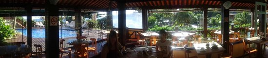 La Boheme Hotel e Apart Hotel : Panorámica del restaurante