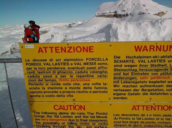 Dolomiti Ski Tour : Passo Pardoi freeride